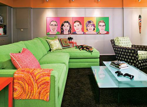 retro and pop art design 1 9 Basic Styles in Interior Design