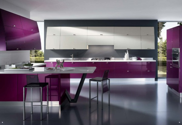 unique kitchen photos 600x414 Kitchen Modern Minimalist Furniture Inspiration