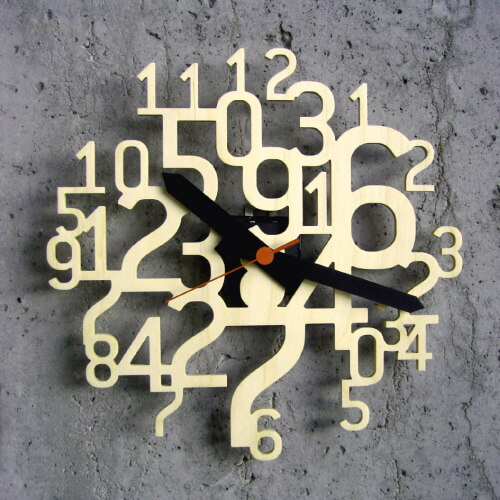 unique wall clocks 4 Unique and Inspiring Wall Clocks for Your Home