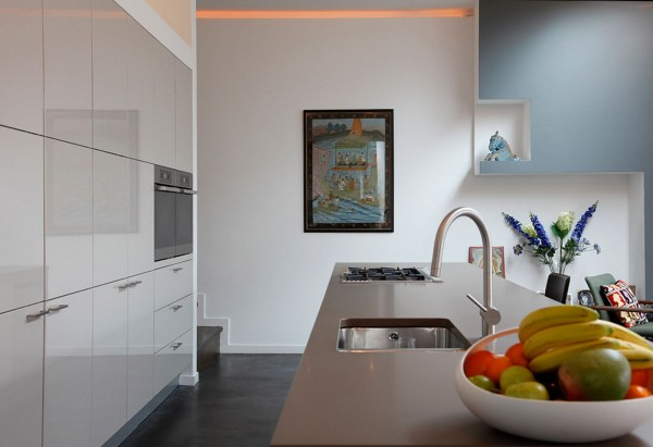 urban kitchen modern minimalist design 9 600x411 Kitchen Modern Minimalist Furniture Inspiration