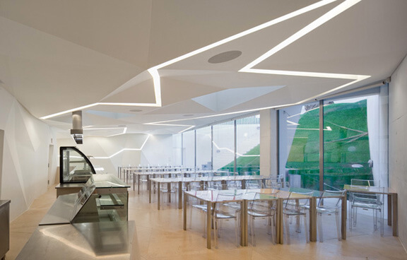 Innovative And Appealing Design Of Vodafone Office
