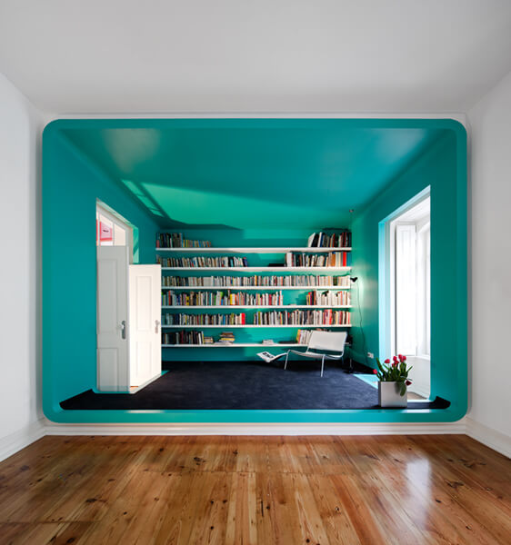 20 Unconventional House Bursting with Color and Futuristic Details
