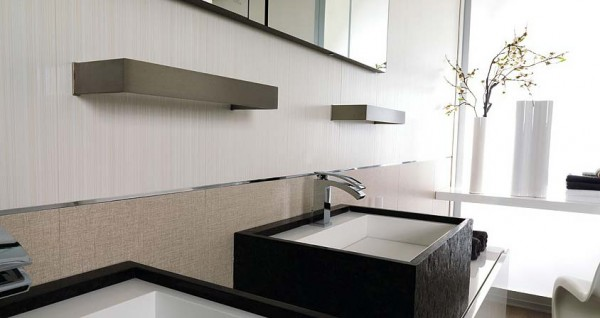 7V Yute Blanco+Classic White 600x318 23 Astonishing Bathroom Design Ideas from Porcelanosa