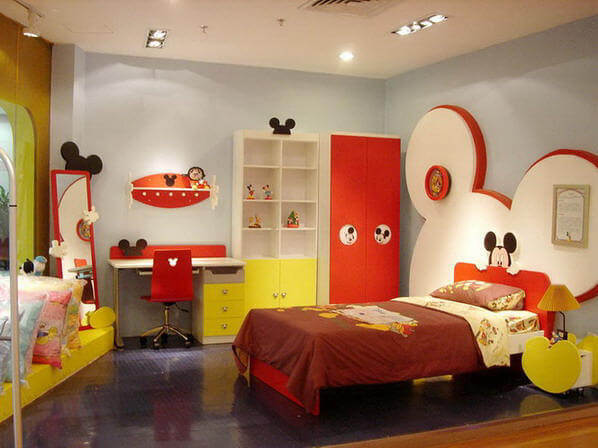 Children Furniture Naughty Mickey  How to Design Your Kids Room