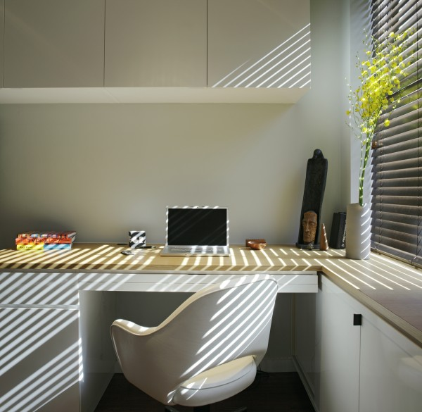 EVillageStudio 08 600x585 Modern Small Apartment With Delightul Details
