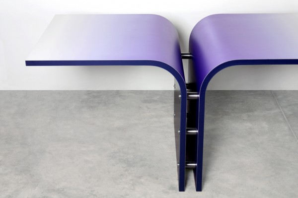 "GOLA tav4 600x399 Collection of Furniture ""GOLA"" TABLE designed by Gianluca Sgalippa"