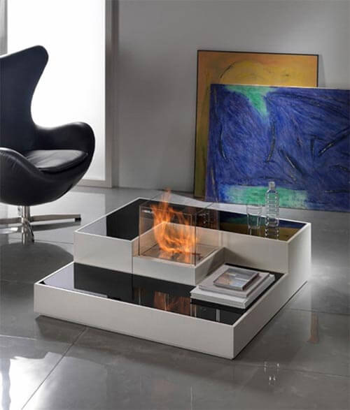 HF6 Attractive Modern Fireplaces Designs