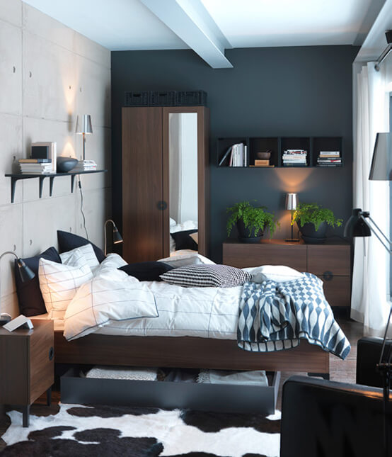ikea small bedroom decorating ideas 7
