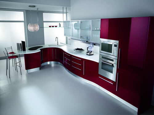 Luxury and Modern Kitchen Design by Fiamberti  How to Remodel Your Kitchen Floor Area