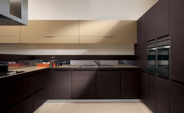 Modern Interior Kitchen from Intex Interiors2 600x367  How to Remodel Your Kitchen Floor Area
