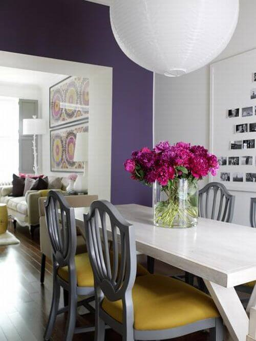 Purple Interior Design Ideas picture 6 How to Create Beautiful Accent Walls for Your Rooms