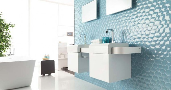 Zaphire blue H 600x318 23 Astonishing Bathroom Design Ideas from Porcelanosa