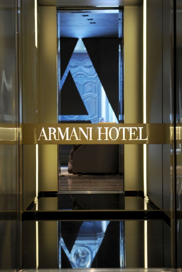 armani hotel06 600x899 Luxurious New Armani Hotel in Milan