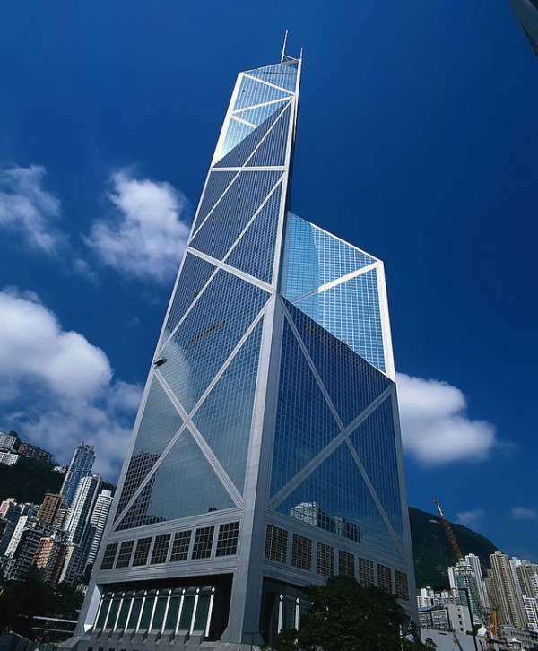 bank of china tower 600x726 14 Futuristic Building Designs in China