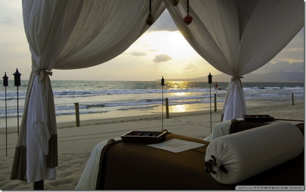 beach bedwallpaper960x600 20 Dream Beds Ideas