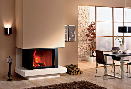 ca m ab01 Attractive Modern Fireplaces Designs