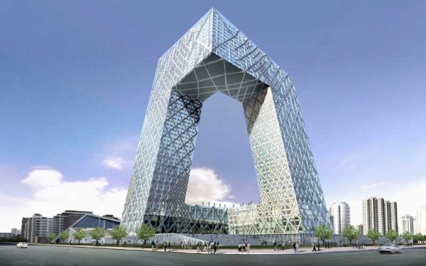 cctv beijing oma 220307 12 600x375 14 Futuristic Building Designs in China