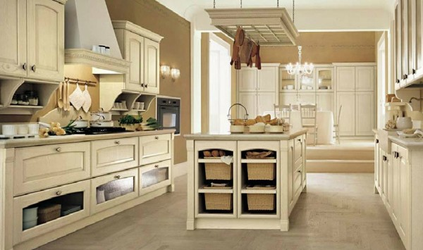 classic kitchen15 600x355 Beautiful Italian Classic Kitchen Furniture