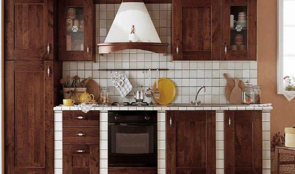 classic kitchen4 600x354 Beautiful Italian Classic Kitchen Furniture