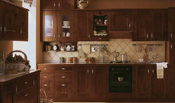 classic kitchen5 600x354 Beautiful Italian Classic Kitchen Furniture