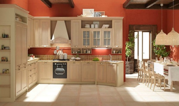 classic kitchen8 600x354 Beautiful Italian Classic Kitchen Furniture