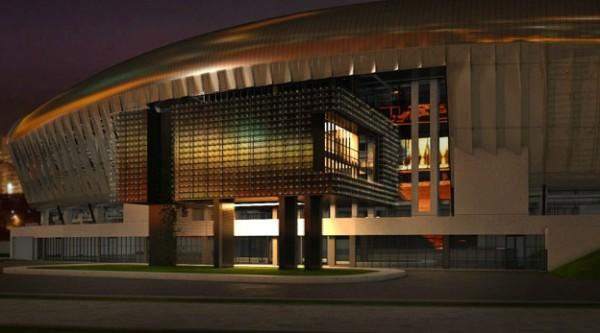 cluj arena 600x333 Fantastic Cluj Arena Stadium in Romania