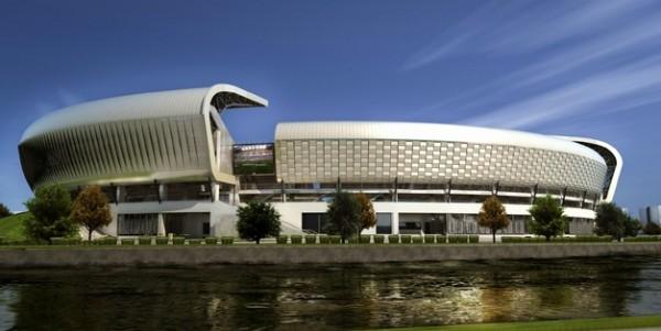 cluj arena2 600x301 Fantastic Cluj Arena Stadium in Romania