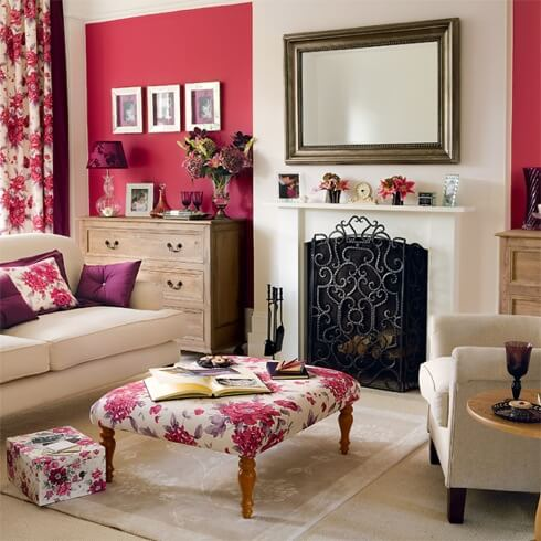 country modern living room How to Create Beautiful Accent Walls for Your Rooms