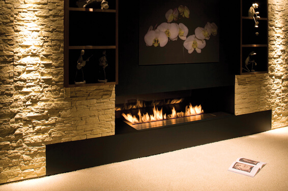 fireline21 Attractive Modern Fireplaces Designs