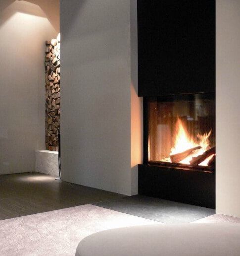 Attractive Modern Fireplaces Designs Interior Design