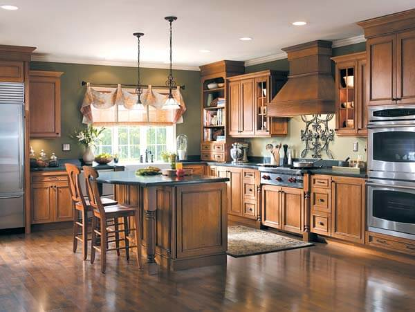 How to achieve the elegant tuscan style for your kitchen for Tuscan style kitchen lighting