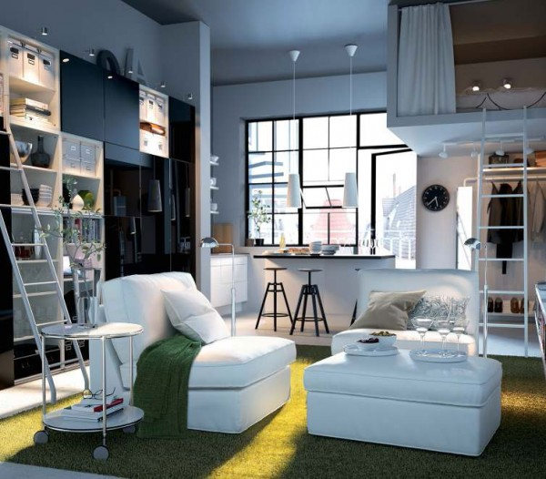 ikea living room design ideas 2012 1 600x526 Rearrange Small Living Rooms with Ikea Ideas for 2012