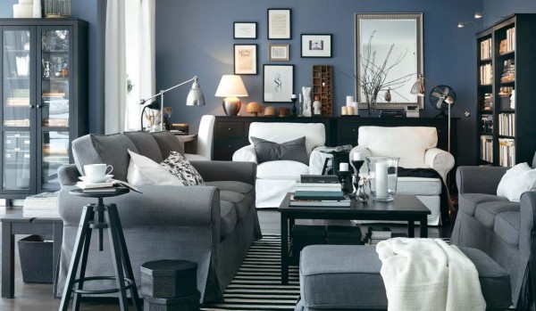 ikea living room design ideas 2012 7 600x349 Rearrange Small Living Rooms with Ikea Ideas for 2012