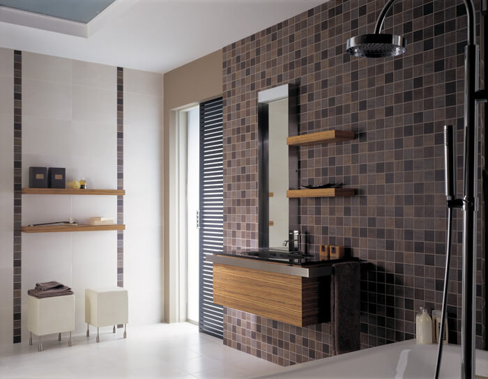 23 astonishing bathroom design ideas from porcelanosa for Porcelanosa bathroom designs