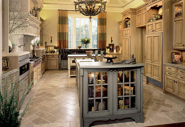 kit trad tuscany 01d How to Achieve the Elegant Tuscan Style for Your Kitchen