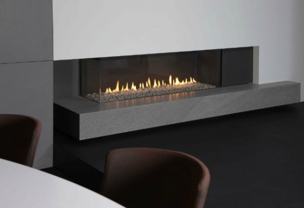 modern fireplace41 600x411 Attractive Modern Fireplaces Designs