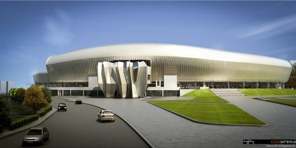 moina4 600x301 Fantastic Cluj Arena Stadium in Romania