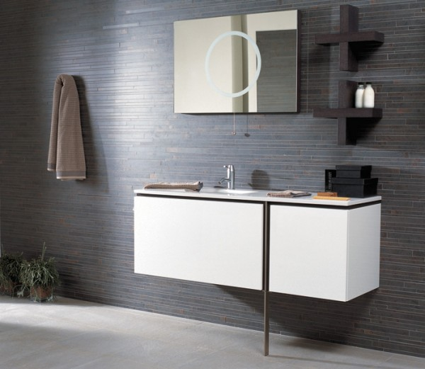 neo blanco 600x521 23 Astonishing Bathroom Design Ideas from Porcelanosa