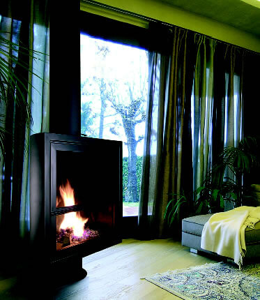 new01 Attractive Modern Fireplaces Designs