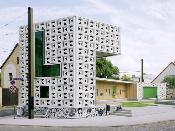 open air library 600x450 Open Air Library in Magdeburg, Germany