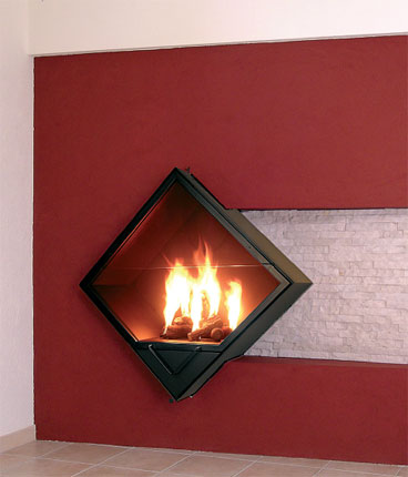 peyote01 Attractive Modern Fireplaces Designs