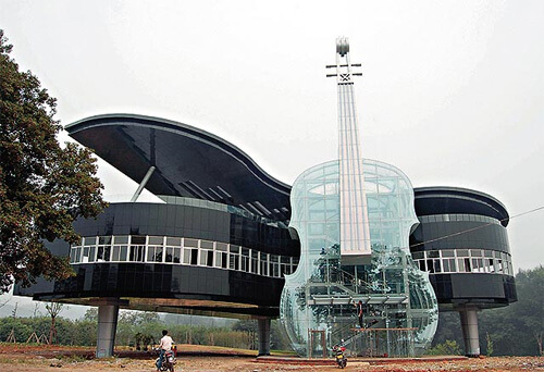 piano house design an hui province china 1 14 Futuristic Building Designs in China