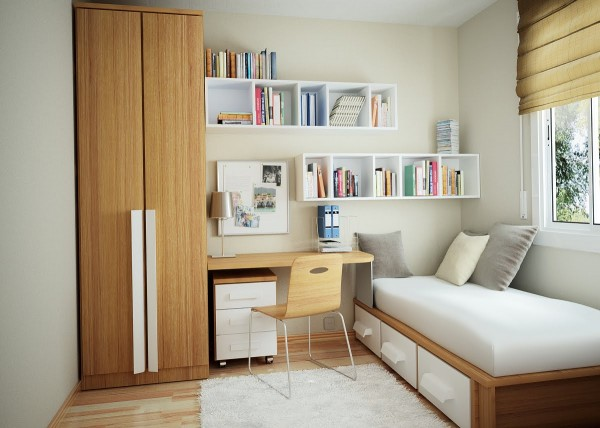 small bedroom furniture 600x428 Small Bedroom Design Ideas