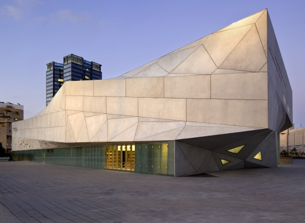 tama edge21 600x439 New Building Design for Tel Aviv Museum of Art