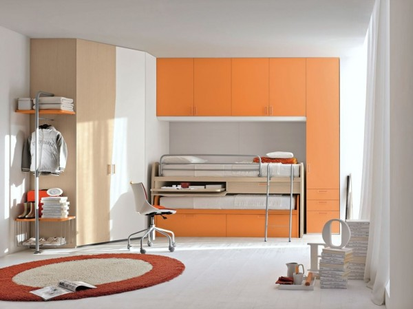 teenage bedroom 14 600x449 Modern Look for Teenagers Bedroom by Dielle