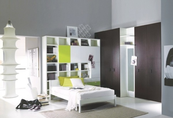 teenage bedroom 15 600x408 Modern Look for Teenagers Bedroom by Dielle