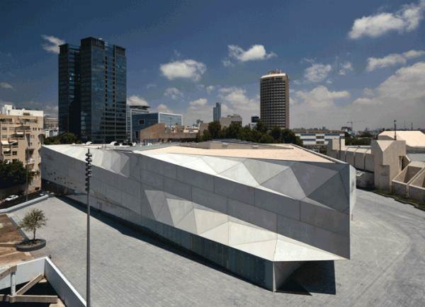 tel aviv museum of art construction 21 600x434 New Building Design for Tel Aviv Museum of Art