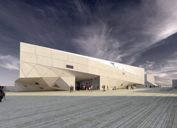 tel aviv museum of art plaza2 600x434 New Building Design for Tel Aviv Museum of Art