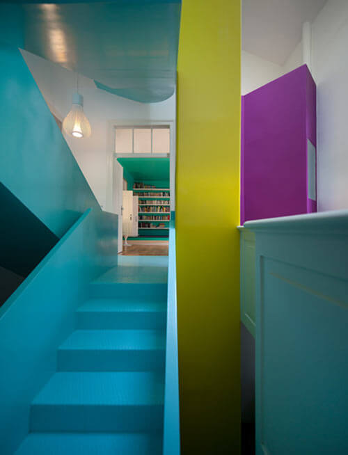 torres vedras 3 Unconventional House Bursting with Color and Futuristic Details