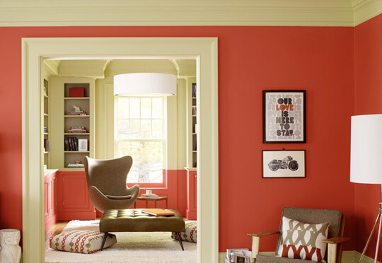 03redgray01152010 rect540 The Hot New Color for 2012 in Interior Design